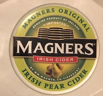 MAGNERS IRISH PEAR CIDER Tap Badge Sticker Decal