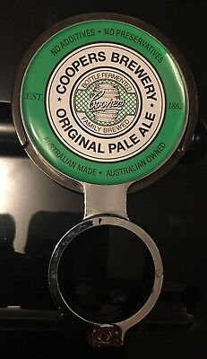 COOPERS BREWERY ORIGINAL PALE ALE Tap Top Badge Decal