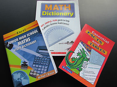 Excel Junior High School Maths Study Dictionary & Others
