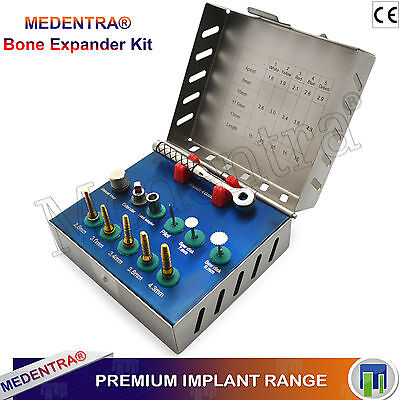 Bone Expander Kit Expansion Saw Disks Drills Bone Manipulation Placing Implants