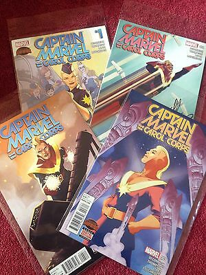 Captain Marvel and the Carol Corps #1-4 (as new)