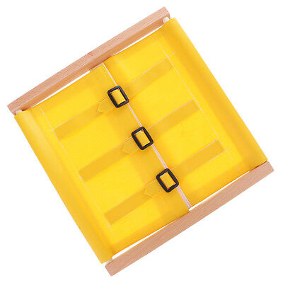 Montessori Wooden Practical Material Buckles Dressing Frame Kids Toys Gift