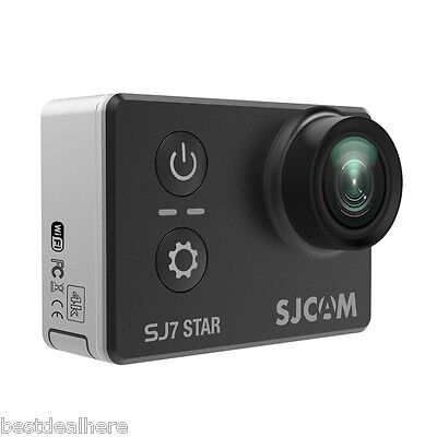2.0'' Original SJCAM SJ7 STAR 4K WiFi Touch Screen Wide Angle Action Camera 12MP