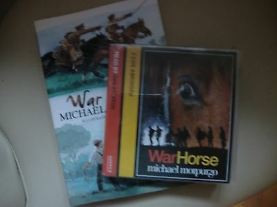 BRAND NEW War Horse book and audiobook CD