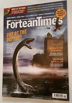 FORTEAN TIMES MAGAZINE ISSUE 341 June 2016