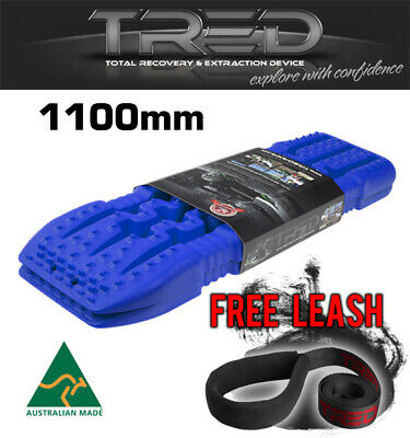 Tred Tracks Recovery Offroad Board 1100 Mm 4X4 4Wd Mud Treds Blue Navy