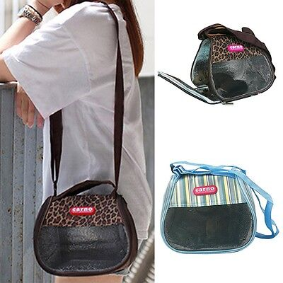 Small Animals Carrier Pet Safety Outdoor Shoulder Bag Hamster Rabbit Puppy Tote