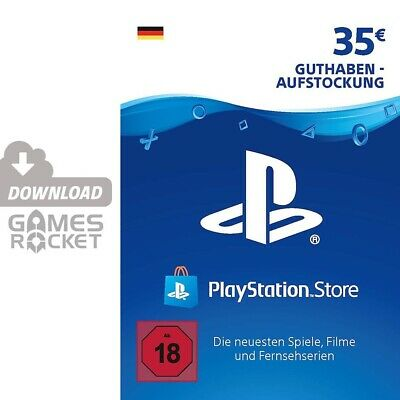 35€ PSN DE Playstation Network Code Card 35 Euro € EUR | PS4, PS3, Vita Guthaben