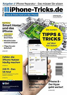 iPhone-Tricks.de Magazin 4/2017 - iPhone 8, Smart Home, Sicherheit, iOS 11, Siri