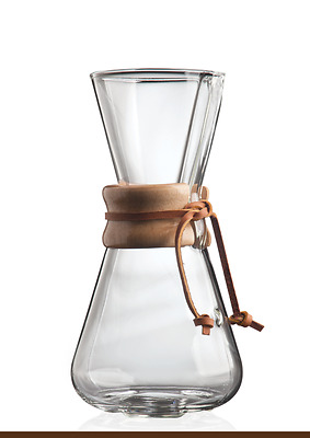 Chemex® 1-3 Cup Classic Wooden Collar Coffee Brewer (CM-1C)