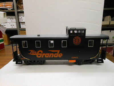 LGB G Scale Caboose-Rio Grand Queen Mary Series 42710