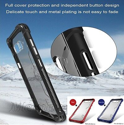 New ShockProof  TPU Clear Case Cover for Samsung Galaxy S8 / Edge / Plus / G955