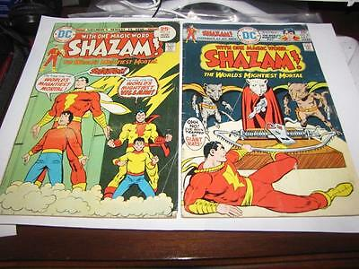 2 Shazam Comic Strip DC No. 19 and 21