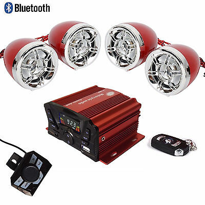3' UTV,ATV,Motorcycle,Amplified Bluetooth Speaker System,Anti-theft Remote AAA