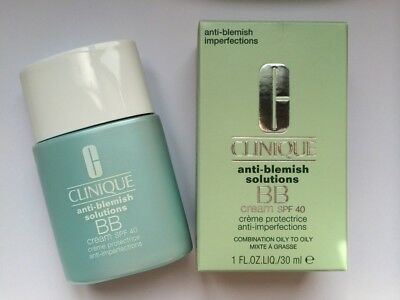 Clinique. Anti-Blemish Solutions.  BB Cream. SPF40. Medium. 30ml