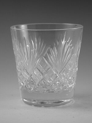 "Royal DOULTON Crystal - JUNO Cut - Tumbler Glass / Glasses - 3 1/2"" (1st)"