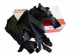 Wurth *POWDER FREE* Electricians Plumbers Beautician Disposable Gloves Box 100