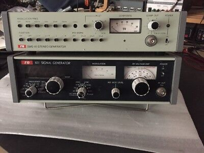 RE 101-105 SIGNAL GENERATOR + SMG40-015 Stereo generator