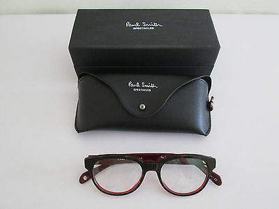 *wow* Genuine Paul Smith Men's Spectacles Glasses Frames Never Assume Clear Lens