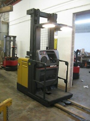 CATERPILLAR Electric Forklift - NOR 30 ORDER-PICKER,107/240 Triple Mast,LOW HOUR