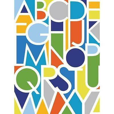Oopsy Daisy - Negative Space Letters Boy Canvas Wall Art 30x40, Ampersand...
