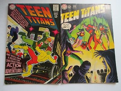 Dc Teen Titans #18,19 1St Red Star 1968