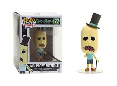 Funko Pop Animation: Rick and Morty - Mr. Poopy Butthole Vinyl Figure #12442
