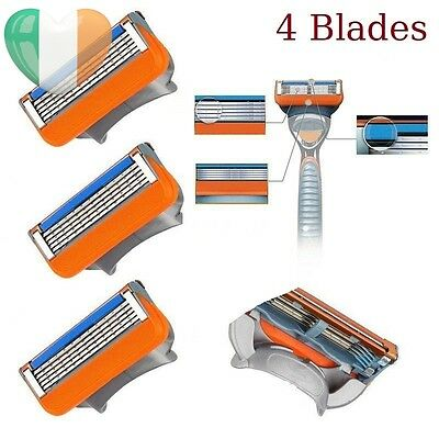 Replacement/Refills Cartridge Razor Blades for GILLETTE FUSION POWER (4 Blades)