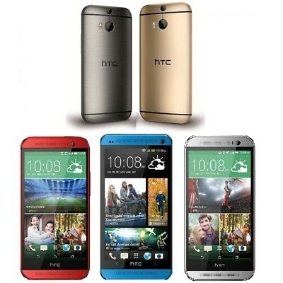 HTC One M8 32GB Factory GSM Unlocked Android Cell Phone Smartphone OTG 3G WIFI