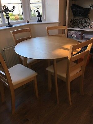 table and 4 chairs collect only
