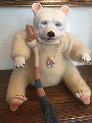 """""""BARRET THE BEAR"""", ONE OF ONLY TWO HANDMADE BY FAITH, Wicket Originals"""