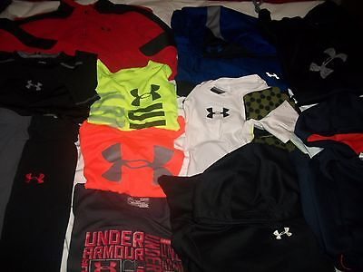 Under Armour Boy's 12 Piece Lot Size Youth Large