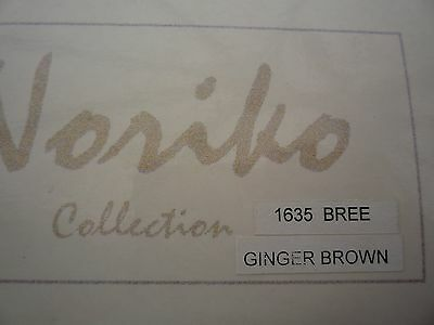 Noriko Collection by Aderans Wig - 1635 BREE - Ginger Brown - Long style - NEW