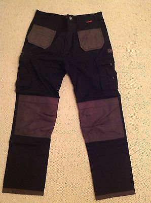 Brand New Black Rock Mens Work Trousers Size 38L