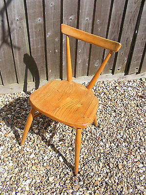 ld Vintage Retro Wooden Ercol School Stacking Chair Design No.884892 Model 392?