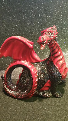 1992 Royal Doulton Flambe Dragon HN 3552 Collectors Club Piece