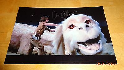 Alan Oppenheimer Signed Picture Autographed With COA RARE Falkor Neverending