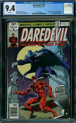 Daredevil 158 CGC 9.4 - White Pages