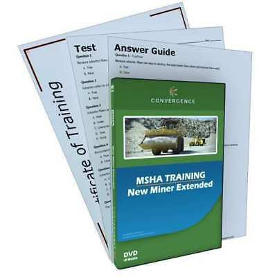 MSHA - New Miner Extended Kit,MSHA,DVD