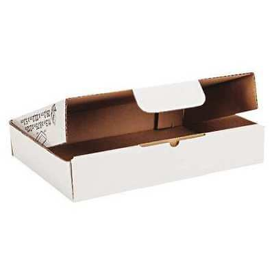 "DUCK 1147604 Ship Box,Self Lock,11.5x8.75"",White,PK25"