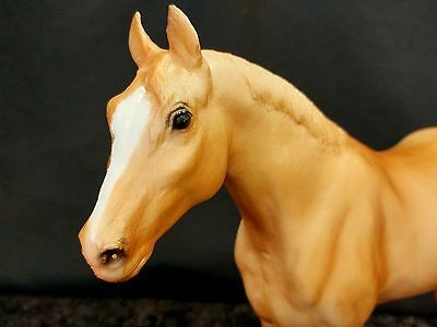 Breyer Traditional #102 Quarter Yearling Tan Blonde Mare Horse Figure EUC '70-80