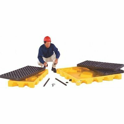 "ULTRATECH 1090 Drum Spill Containment Pallet,52"" L"