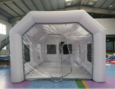 Portable Inflatable Paint Booths from USA 5x8x3.5 Meters SHIPS FAST FROM USA