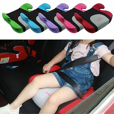 Child Car Booster Seat Travel Portable Auto Thicken Cushion Pad Safety Chair