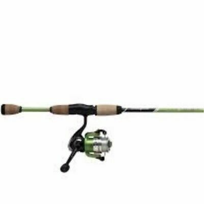 "1 x Shakespeare Geen 6'0"" AMPHIBIAN Fishing Spin Rod & Reel Combo - 2 Pc"