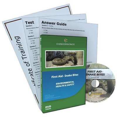 Snake Bites Training, First Aid, DVD