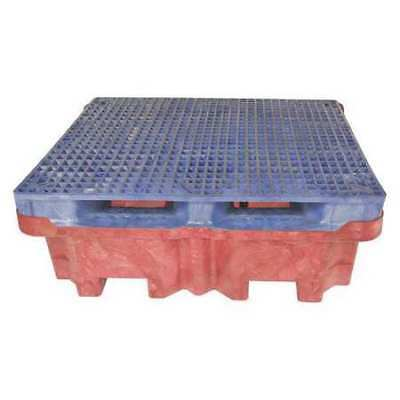 "ULTRATECH 803 Drum Spill Containment Pallet,51"" L"