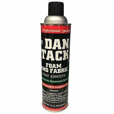 Dan Tack 2012 Professional Quality Foam & Fabric Glue Adhesive Spray 12 oz Can