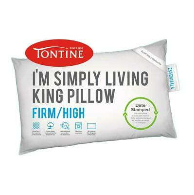 Tontine Simply Living Firm & High King Pillow