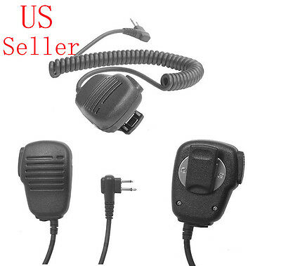 2 Prong Headset Earpiece MIC for MOTOROLA CP88 CP100 CP150 CP185 CP200 CP220 USA